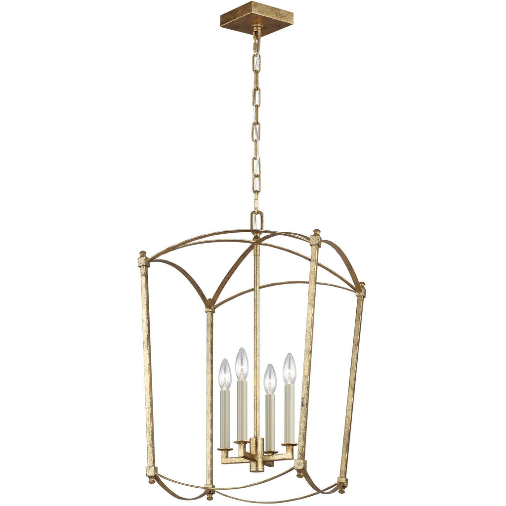 Thayer 4-Light Medium Pendant | Antique Gild