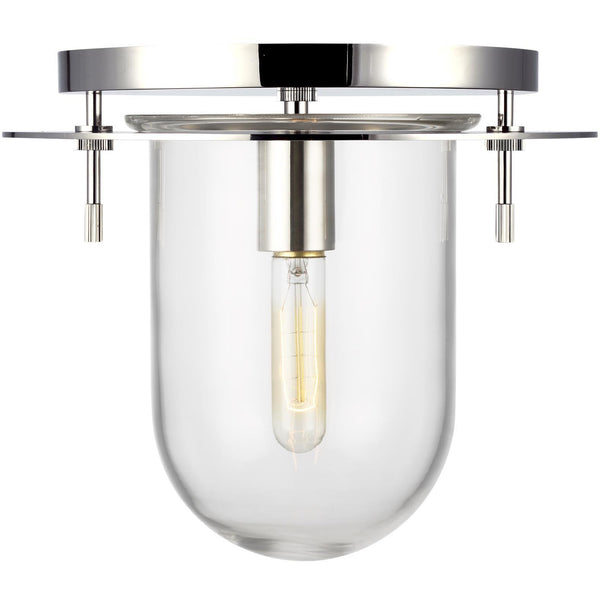 Nuance Flush Mount (Small) | Polished Nickel