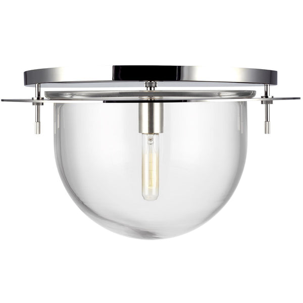 Nuance Flush Mount (Large) | Polished Nickel
