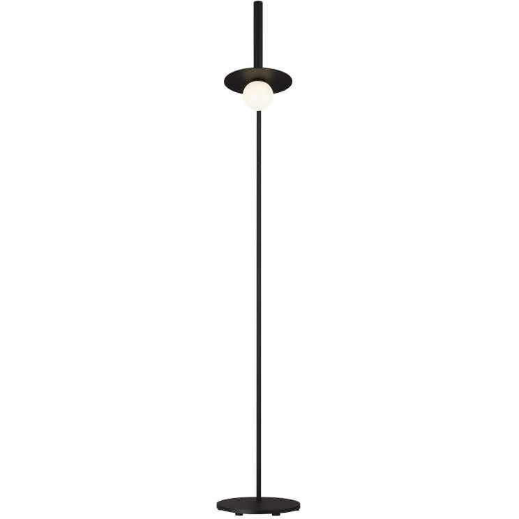 Nodes Floor Lamp | Midnight Black