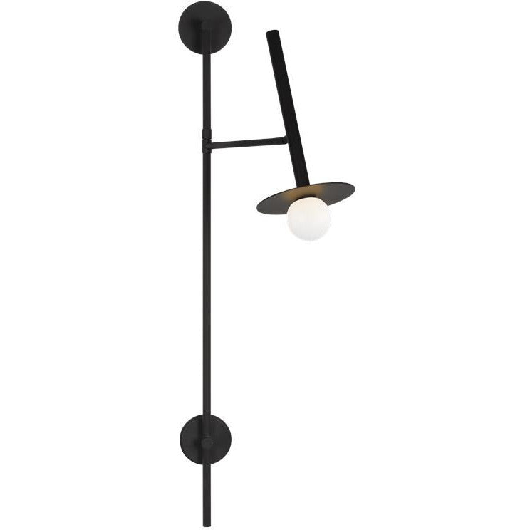 Nodes Large Pivot Wall Sconce | Midnight Black