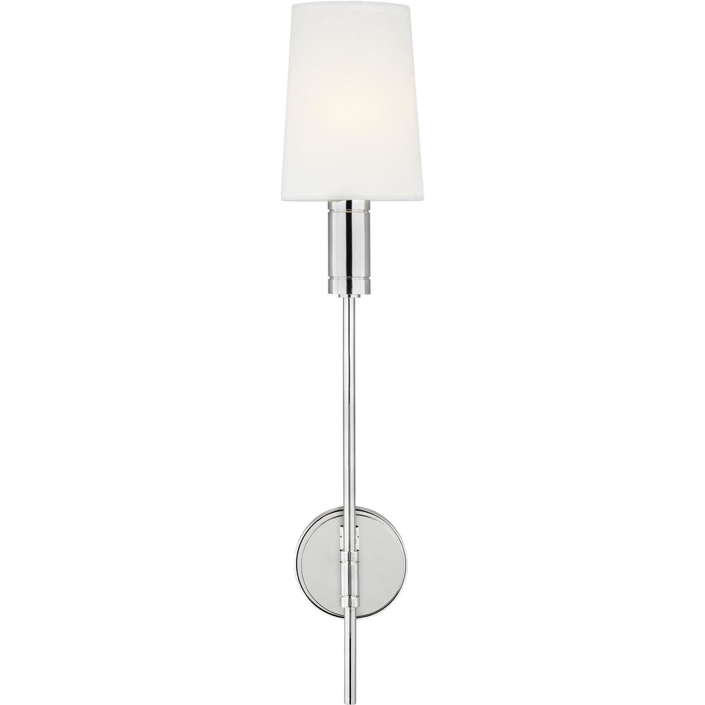 Beckham Wall Sconce | Polished Nickel