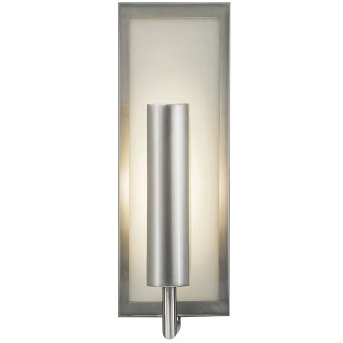 Mila 1-Light Wall Sconce | Brushed Steel