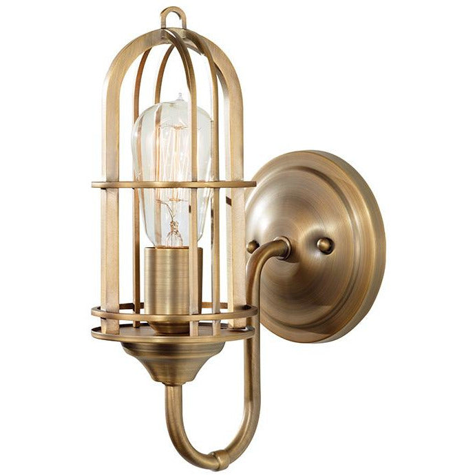 Urban Renewal 1-Light Wall Sconce | Antique Brass