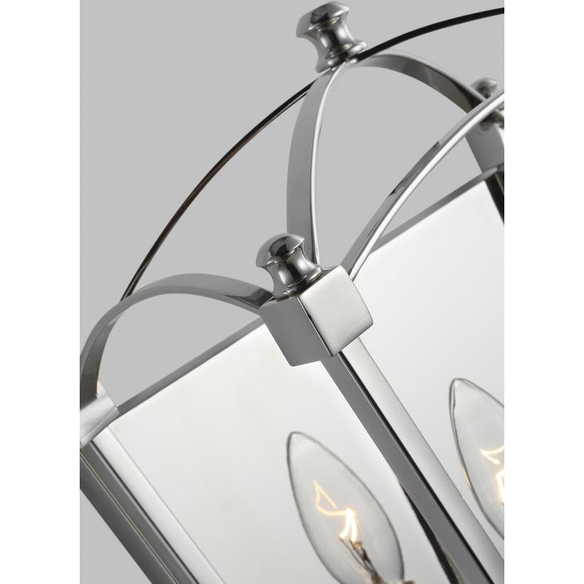 Thayer Wall Sconce | Polished Nickel