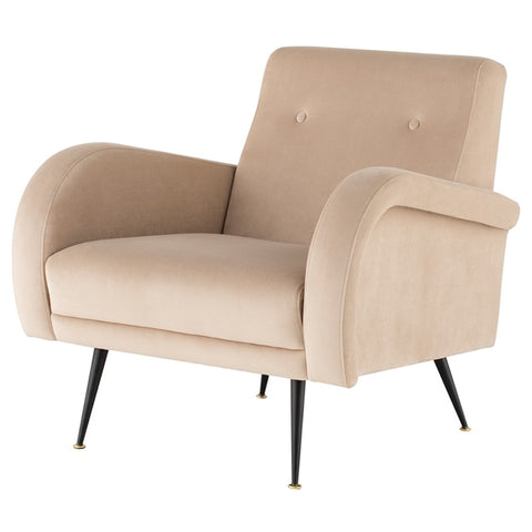 Hughes Lounge Chair |  Nude