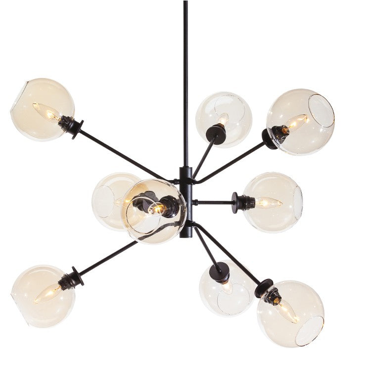 Atam 9-Light Pendant | Champagne