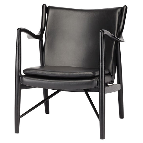 Edward Lounge Chair |  Black