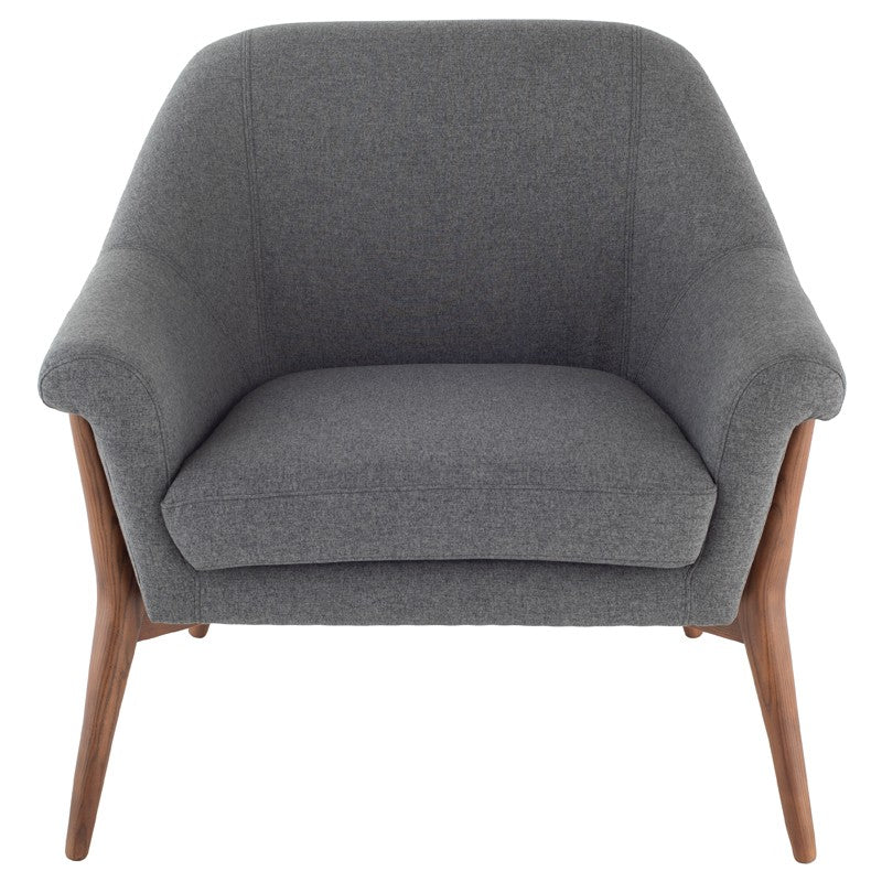 Charlie Lounge Chair |  Shale Grey
