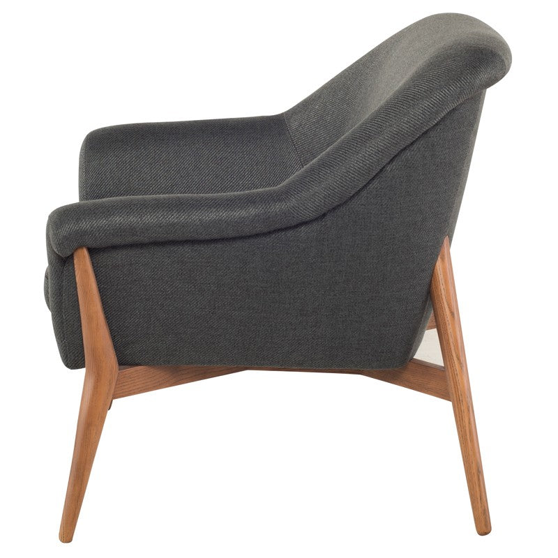 Charlie Lounge Chair | Storm Grey