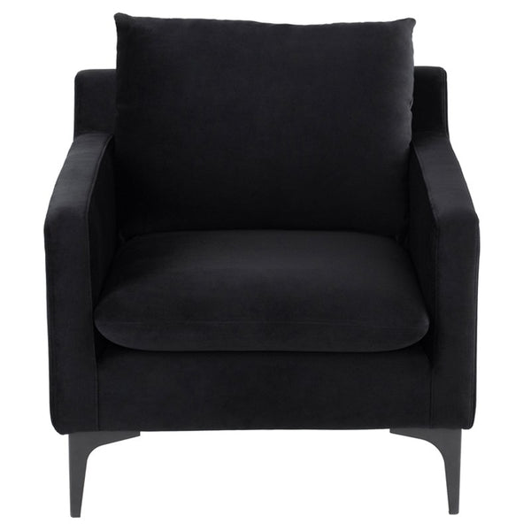 Andy Lounge Chair |  Black