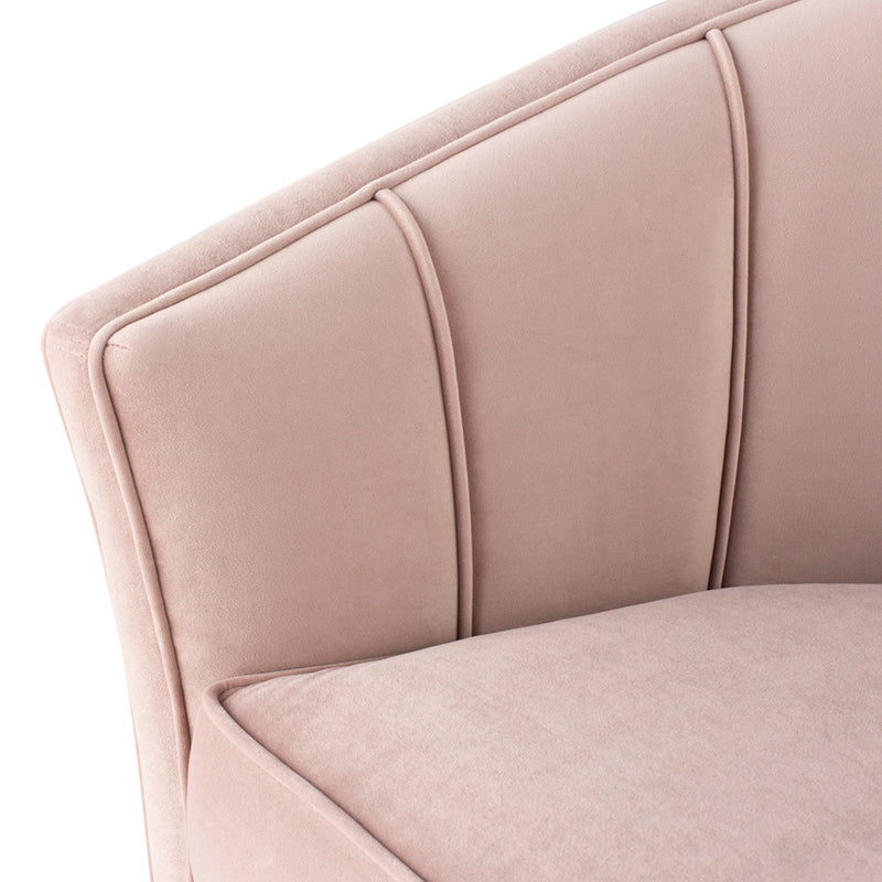 Ari Lounge Chair |  Blush