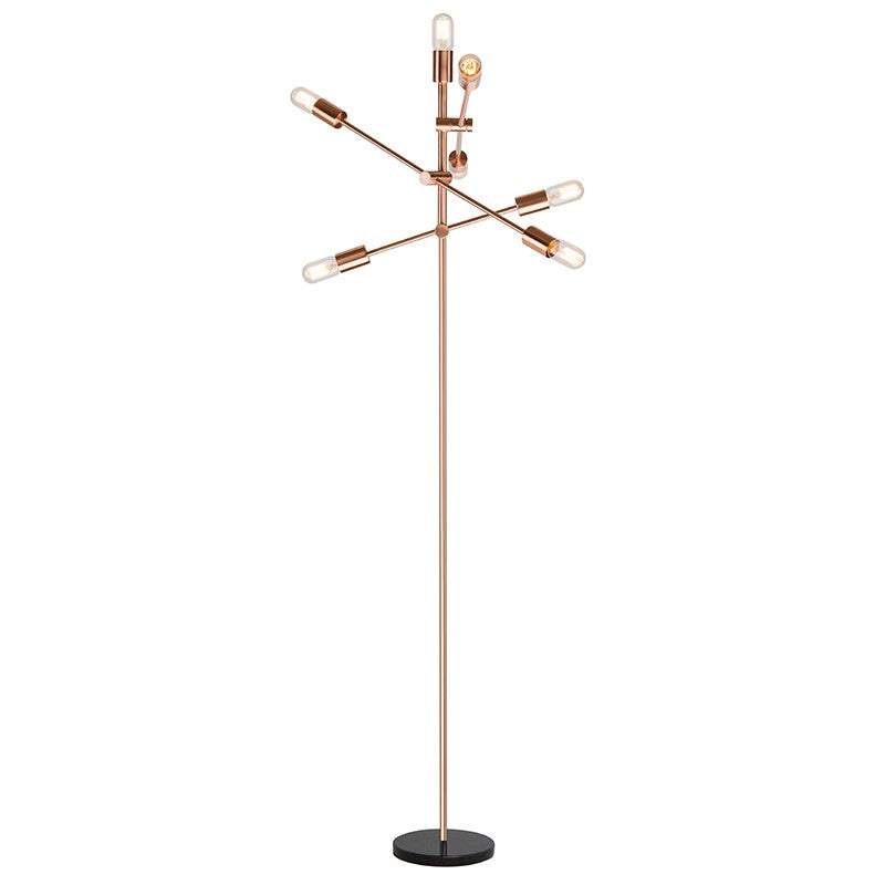 Baron Floor Lamp | Copper/Black