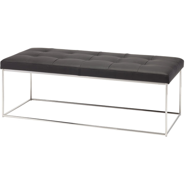 Caen Black Bench