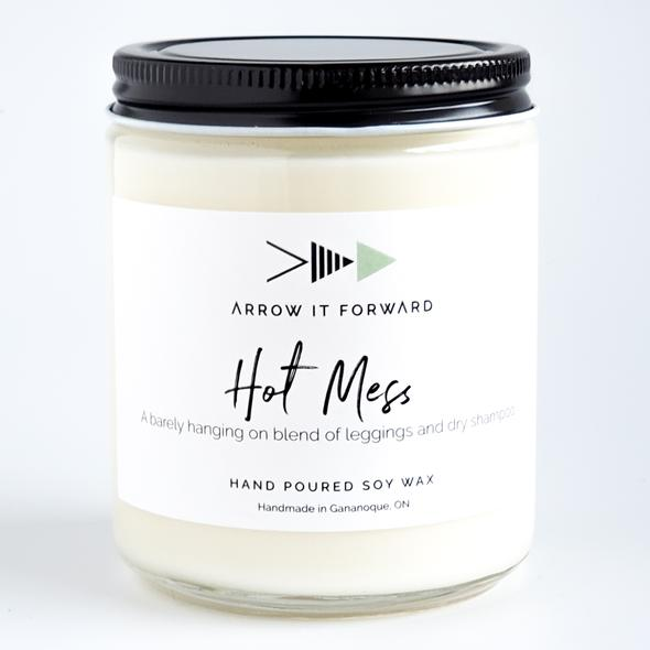 Soy Candle | Hot Mess