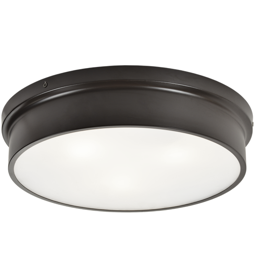 "Ciotola 15"" Flush Mount 