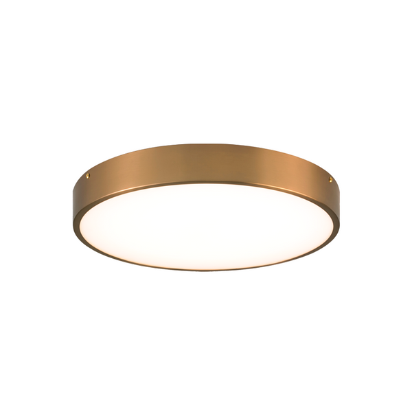 "Plato 15"" LED Flush Mount 