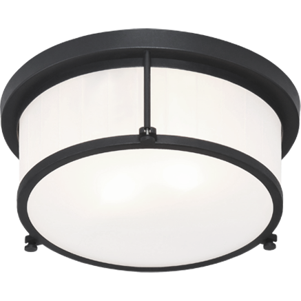 "Caisse Claire 11"" Flush Mount 