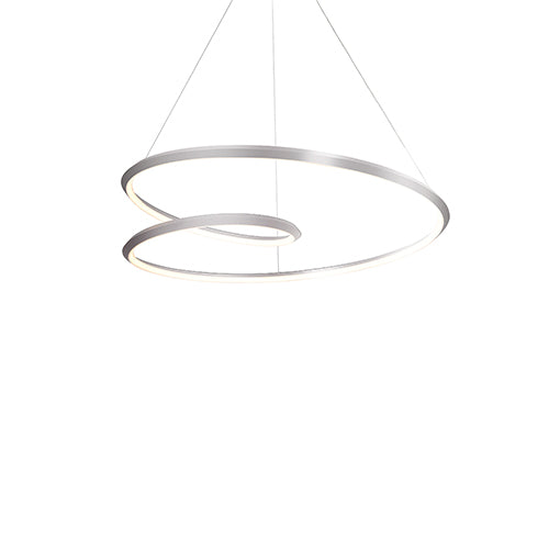 Ampersand LED Pendant | Brushed Nickel