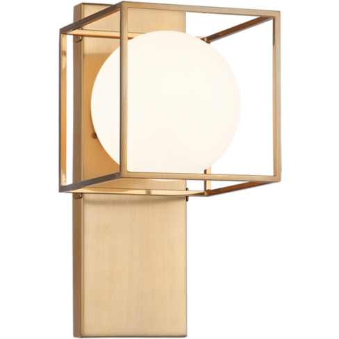 Squircle 1-Light Wall Sconce | Gold