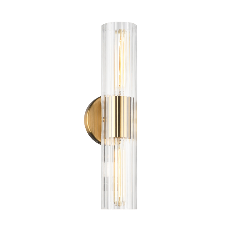 Odette Wall Sconce (Small) | Aged Gold