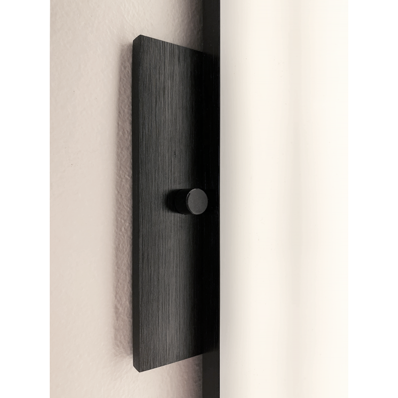 Moirlite LED Wall Sconce (Small) | Black