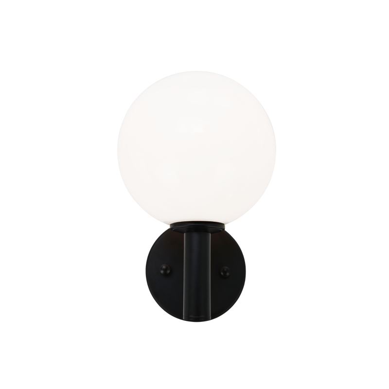 Cosmo Wall Sconce | Opal/Black