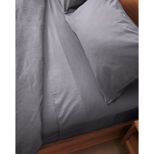 Luxury Organic Bed Sheets | Charcoal Grey