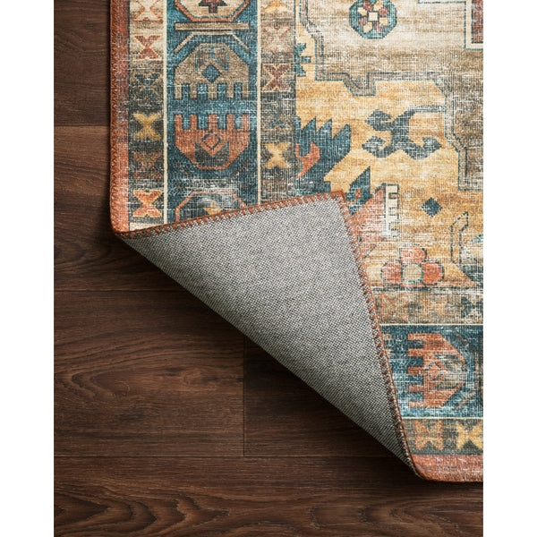 Skye Rug 11 | Rust/Blue