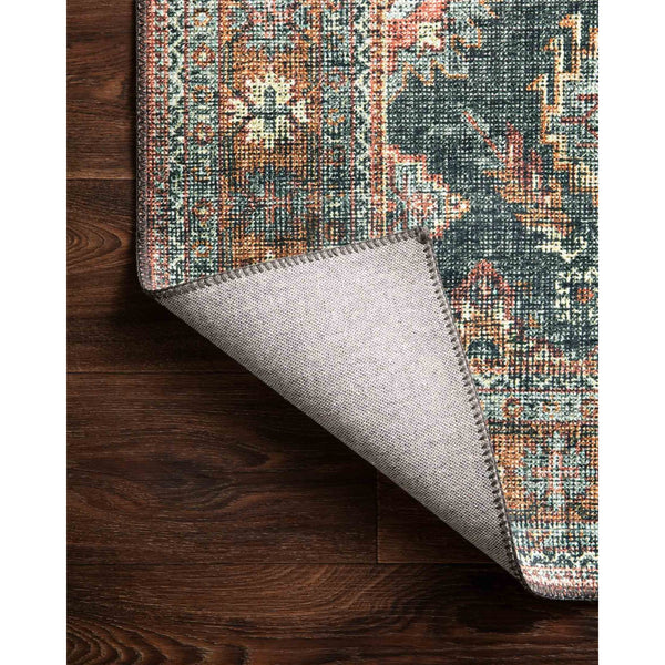 Skye Rug 10 | Sea/Rust