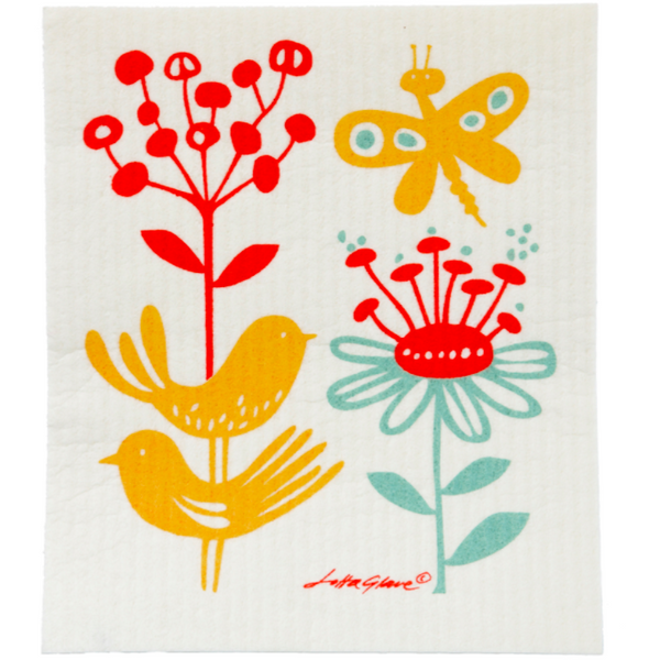 Sponge Cloth | Butterfly (Set of 2)