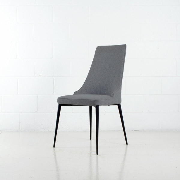 Carol Dining Chair | Warm Grey