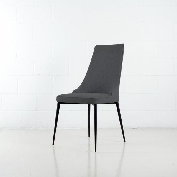 Carol Dining Chair | Dark Grey