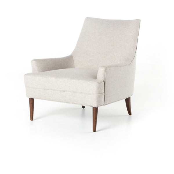 Abby Lounge Chair | Noble Platinum