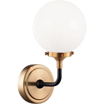 Particles 1-Light Wall Sconce | Aged Gold