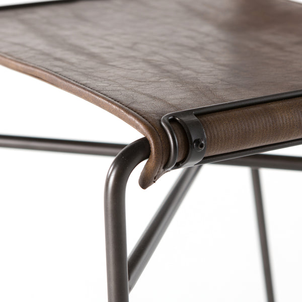Barton Dining Chair | Distressed Brown
