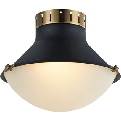 Notting 2-Light  Flush Mount | Aged Gold