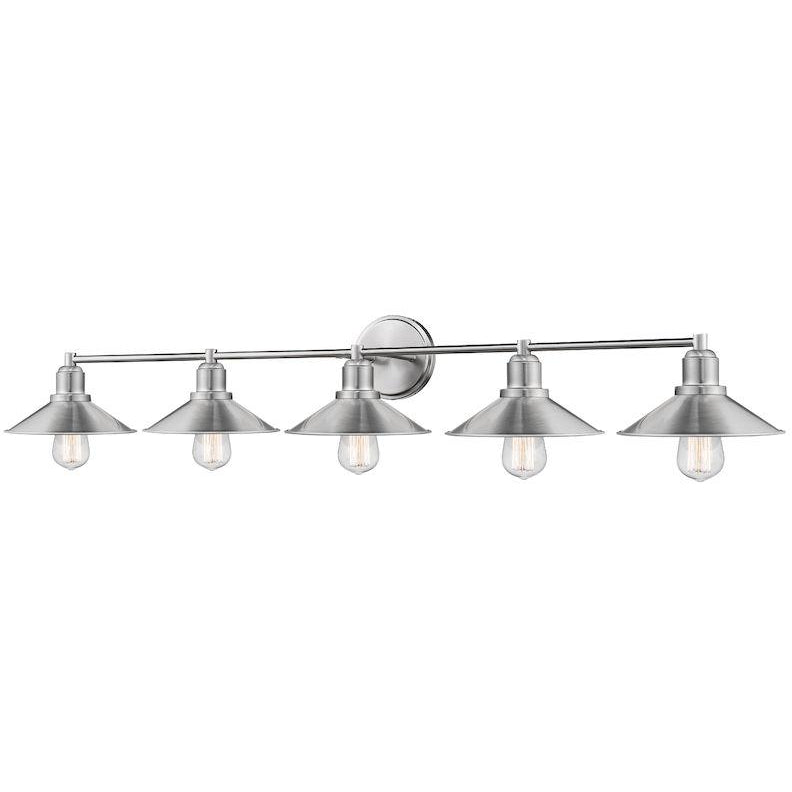 Casa 5-Light Vanity Light | Brushed Nickel