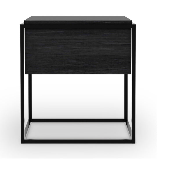 Monolit Nightstand | Black Oak