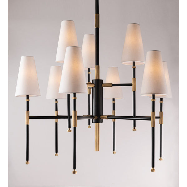 Bowery Chandelier | Aged Old Bronze