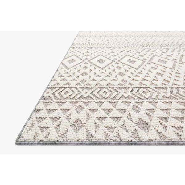 Cole Rug 04 | Silver/Ivory