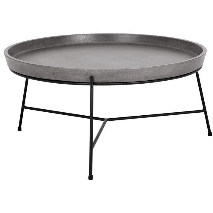 Romeo Coffee Table | Black & Grey