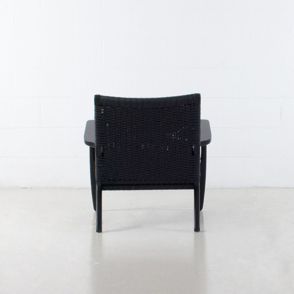 Cable Lounge Chair | Black
