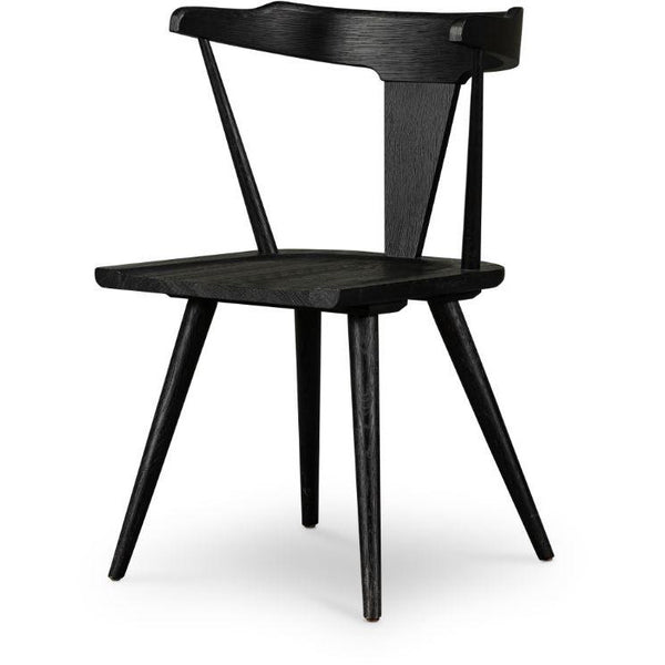 Ripple Dining Chair | Black Oak