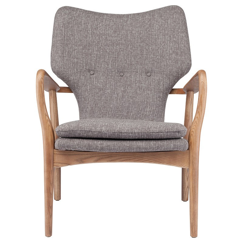 Porter armchair | Medium Grey