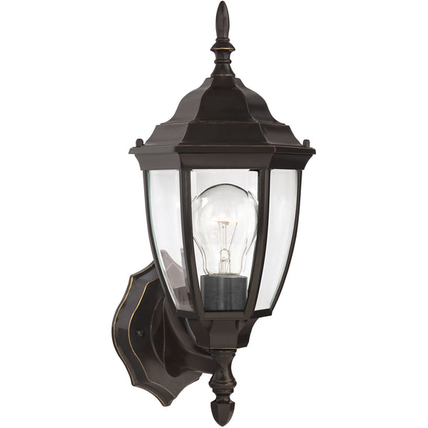Bakersville Wall Lantern | Clear Heirloom Bronze