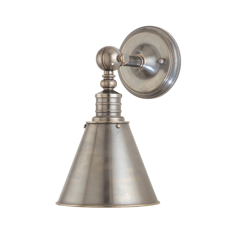Darien Wall Sconce | Historic Nickel