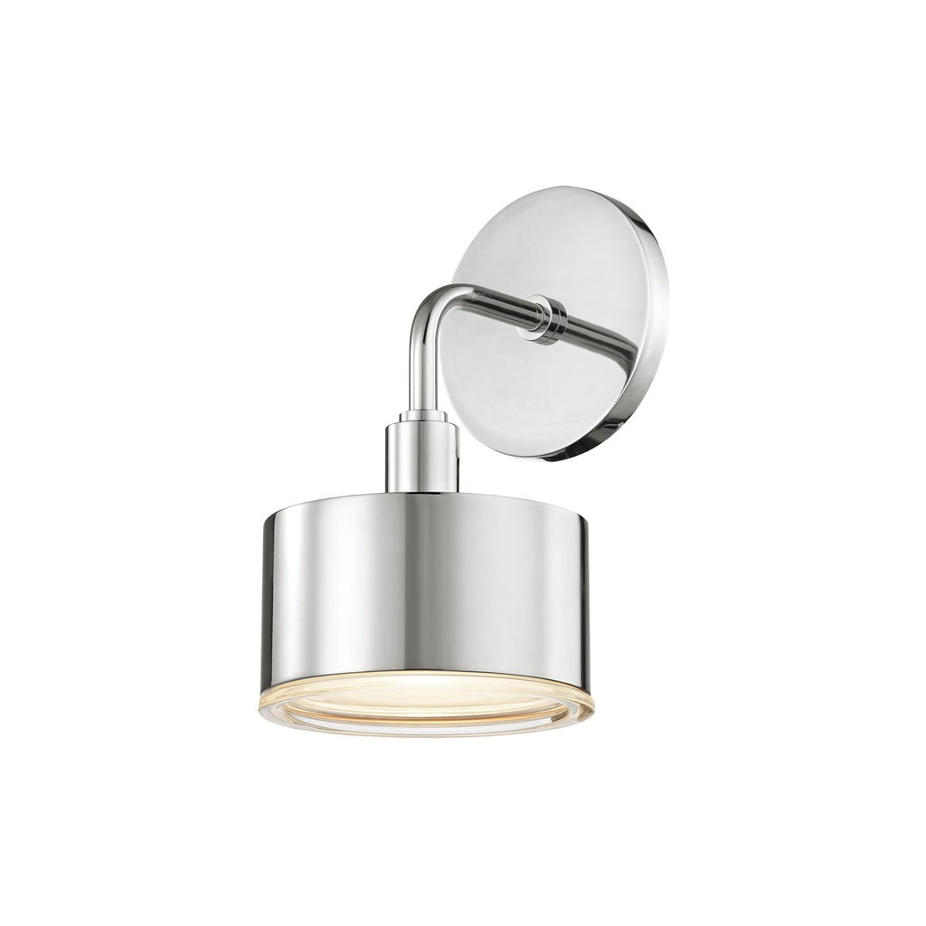 Nora Wall Sconce | Polished Nickel
