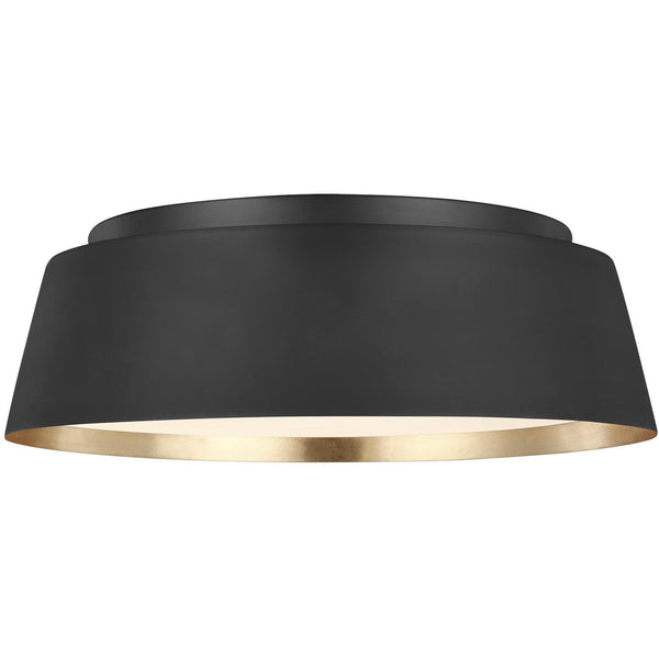 Asher Flush Mount | Midnight Black