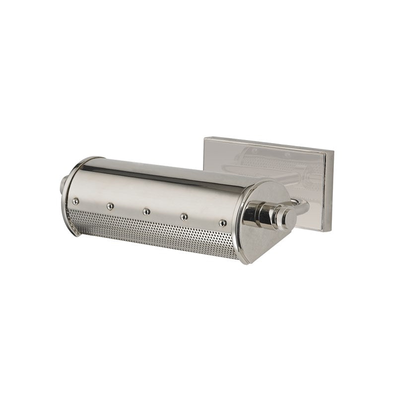 Gaines Small Wall Sconce | Polished Nickel